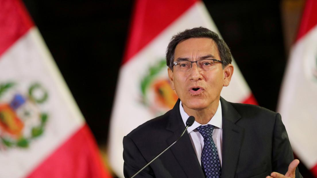 Fiscal anticorrupción solicita prisión preventiva en contra del expresidente de Perú Martín Vizcarra