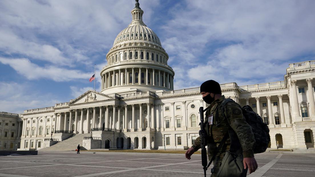 Policía de EE.UU. alerta del posible complot de una milicia para irrumpir en el Capitolio el 4 de marzo
