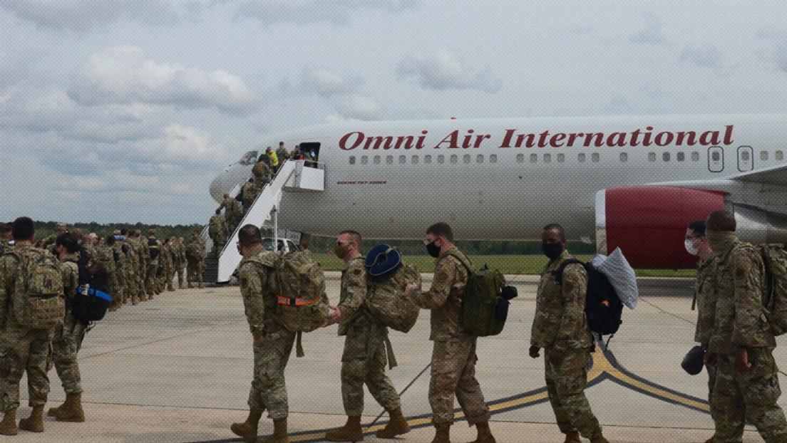 EE.UU. despliega en Arabia Saudita aviones de combate F-16 de la Guardia Nacional