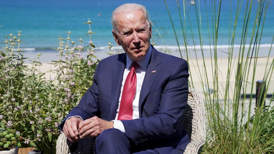 Biden busca exhortar a los líderes del G7 para denunciar a China y unirse para competir económicamente en su contra