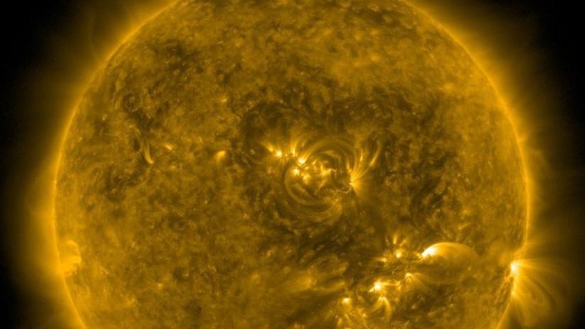 El Sol envía un cálido e inusual 'saludo' a la Tierra